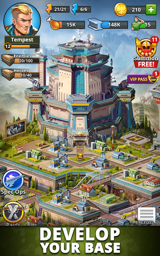 Puzzle Combat: Match-3 RPG android2mod screenshots 10