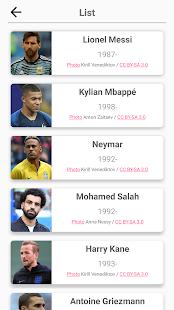 Soccer Players - Quiz about Soccer Stars! 2.99 screenshots 4