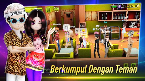 AVATAR MUSIK INDONESIA - Social Dancing Game 1.0.1 Screenshots 3