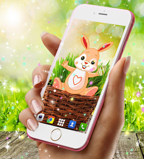 Cute bunny live wallpaper for android modavailable screenshots 12