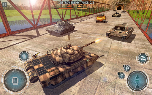 Tank Blitz Fury: Free Tank Battle Games 2019 apkpoly screenshots 6
