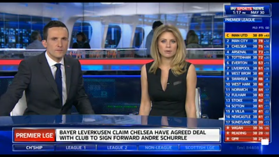 Sky Sports Mobile TV Screenshot