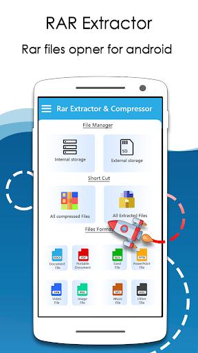 Rar Extractor for Android: Zip Reader, RAR Opener 1.7.2 screenshots 2