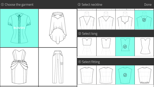 Fashion Design Flat Sketch 1.0 Screenshots 1