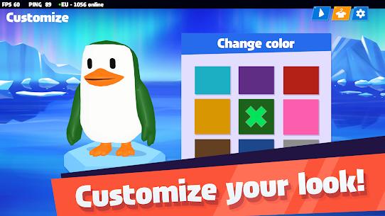 JustFall.LOL – Multiplayer Online Game of Penguins Mod Apk 1.150 5