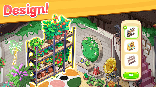 Ohana Island - Design Flower Shop & Blast Puzzle apkslow screenshots 2
