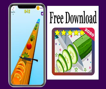 New : Fruit Cut Slicer 3D 2020 Hack for iOS and Android 3