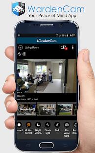 Home Security Camera WardenCam - reuse old phones 2.8.2 Screenshots 2