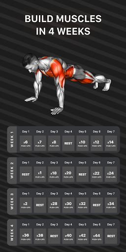 Workout Planner by Muscle Booster  screenshots 1
