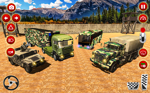 Army Truck Driver transport US Military Games 2021 screenshots 9