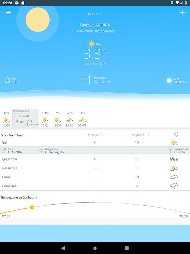 Meteoroloji Hava Durumu  Screenshots 11