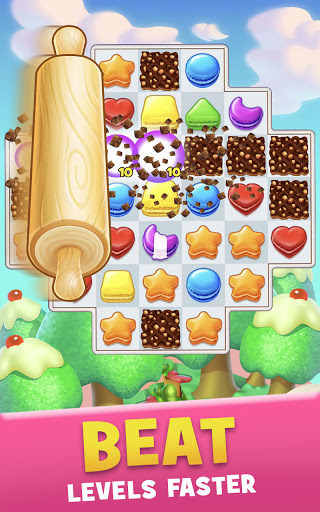 Cookie Jamu2122 Match 3 Games | Connect 3 or More apkslow screenshots 5
