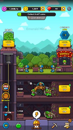 Popo's Mine - Idle Mineral Tycoon  screenshots 12