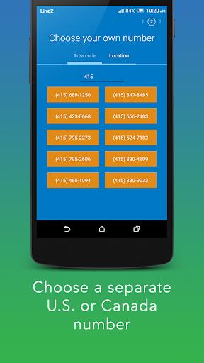 Line2 - Second Phone Number 4.2.2 Screenshots 4