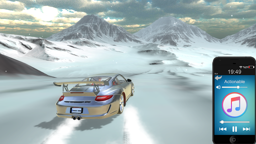 911 gt3 drift simulator screenshot 2