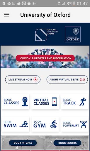 Oxford University Sport screenshot 1