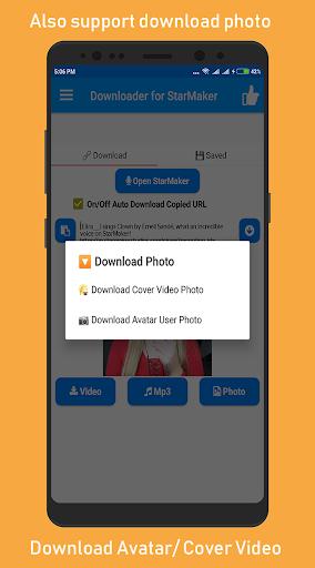 Sing Downloader for Starmaker  Screenshots 5