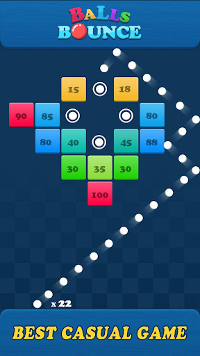 Balls Bounce:Bricks Crasher screenshots 1