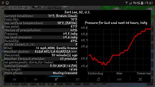 NOAA doppler radar with weather alerts - eMap HDF 2.1.6 Screenshots 24