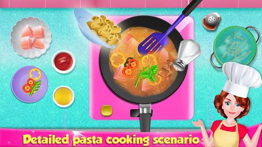 Italian Pasta Maker: Cooking Continental Foods 1.0.4 screenshots 2