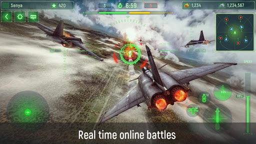 Wings of War: Sky Fighters 3D Online Shooter  screenshots 1