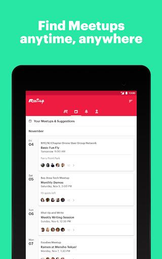 Meetup: Find events near you screenshots 9