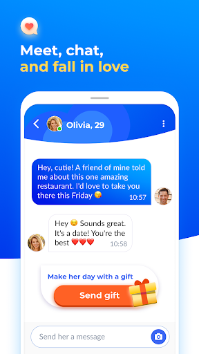 Dating with singles nearby - iHappy 1.0.47 Screenshots 4