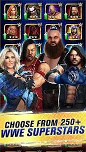 WWE Champions 2021 Mod Apk (High Damage/No Skill CD) 2