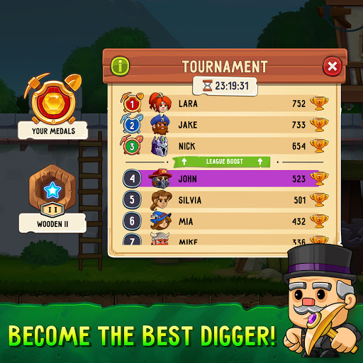 Dig Out! - Gold Digger Adventure 2.19.0 screenshots 6