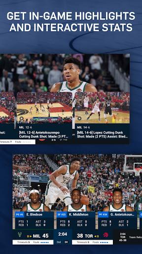 NBA: Live Games & Scores screenshots 4