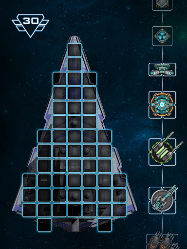 Space Arena: Spaceship game - Build & Fight android2mod screenshots 2