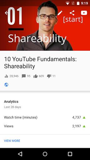 YouTube Studio 20.47.101 Screenshots 4