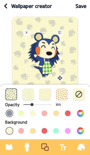 Screenshot - Animal Crossing Wallpapers + wallpaper creator