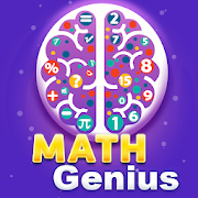 Math Genius - New Math Riddles & Puzzle Brain Game