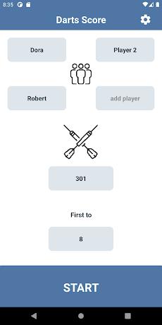 Darts Score Easy scoreboardのおすすめ画像2