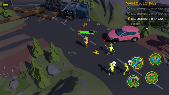 Zombie Blast Crew Screenshot
