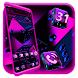 Ludo Pink Dice 3D Launcher Theme
