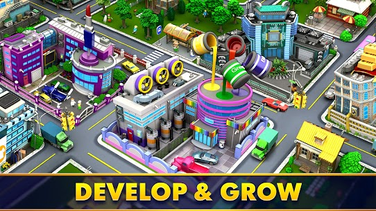 Mayor Match: Town Building Tycoon Mod Apk (Endless Lives/Boosters) 2