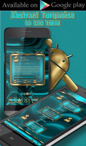 Turquoise Clock Widget  screenshots 6