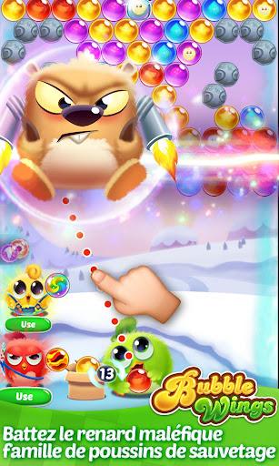 Télécharger Bubble Wings: offline bubble shooter games APK MOD (Astuce) screenshots 2