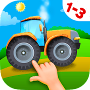 Tractor Puzzles for Toddlers
