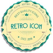 RETRO - ICON Pack Vintage Theme 2019 fullhd
