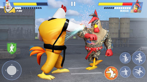 Kung Fu Animal Fighting Games: Wild Karate Fighter 1.0.10 screenshots 7