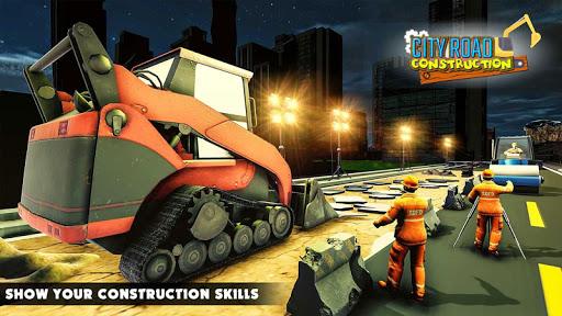Mega City Road Construction Machine Operator Game 3.9 screenshots 3