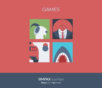 [SALE] SIMPAX ICON PACK Screenshot