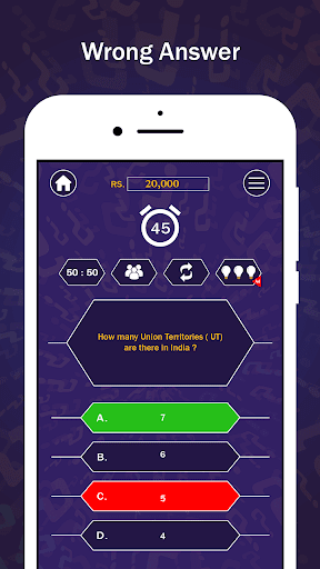 Kids Kbc Live Quiz - 5000+ question trivia 2.5 screenshots 7