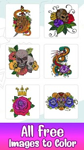 Tattoo Paint by Number For Pc (2021) – Free Download For Windows 10, 8, 7 2