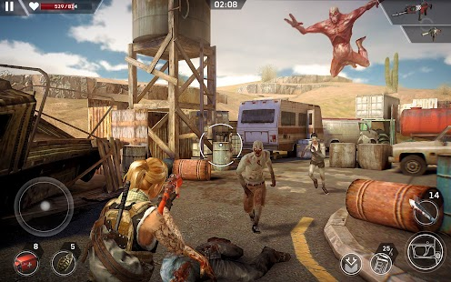 Left to Survive: Action PVP & Dead Zombie Shooter Screenshot