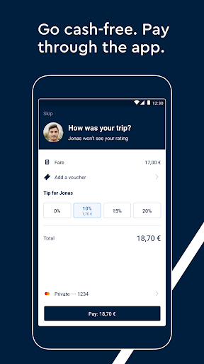 FREE NOW (mytaxi) - Taxi Booking App 10.22.1 screenshots 6