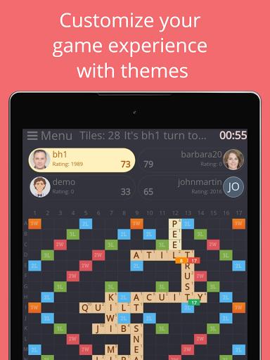 Rackword - Free real-time multiplayer word game screenshots 14